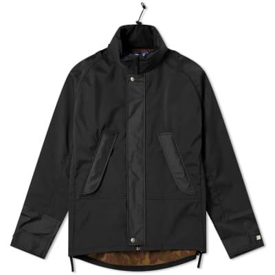 Junya Watanabe MAN Camo Arm Patch Hooded Jacket