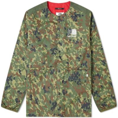 Junya Watanabe MAN eYe x Karrimor Camo Print Jacket