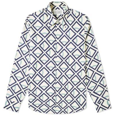 Maison Margiela 14 Cube Logo Poplin Shirt