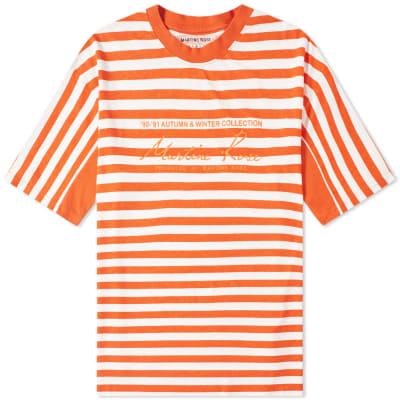 Martine Rose Oversized Stripe Tee