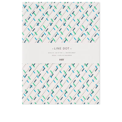 HAY Large Line Dot Notebook - 2 Pack