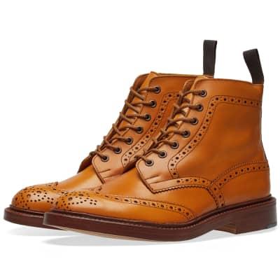 Tricker's Stow Brogue Derby Boot