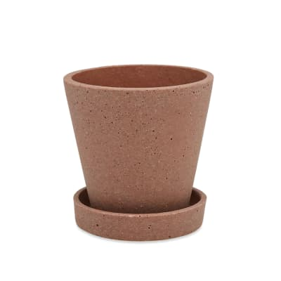 HAY Small Flowerpot with Saucer