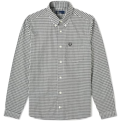 Fred Perry Authentic Button Down Gingham Shirt