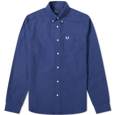 Fred Perry Authentic Button Down Oxford Shirt