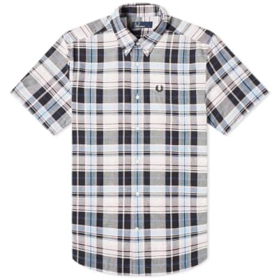 Fred Perry Authentic Short Sleeve Checked Shirt