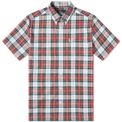 Fred Perry Authentic Short Sleeve Washed Tartan Shirt