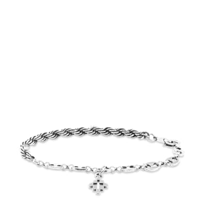 Marcelo Burlon Cross Rope Bracelet