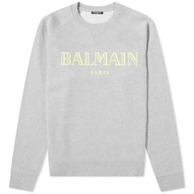 Balmain Logo Crew Sweat