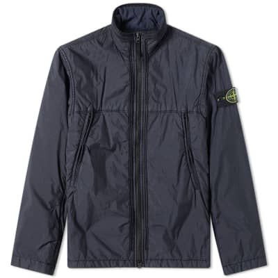 Stone Island Garment Dyed Crinkle Reps NY Piping Jacket