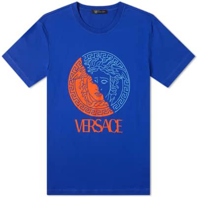 Versace Split Print Medusa Tee