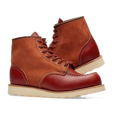 """Red Wing 8819 Heritage Work 6"""" Moc Toe Boot"""
