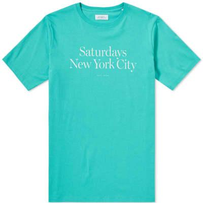 Saturdays NYC Miller Standard Tee