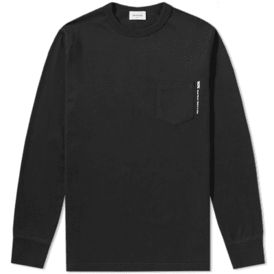 Wood Wood Long Sleeve Lui Tee