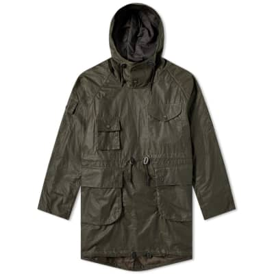 Barbour x Engineered Garments Cowan Wax Jacket