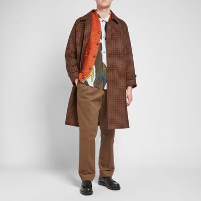 Mackintosh Blackridge Check Overcoat