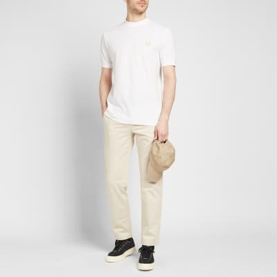 Fred Perry x Miles Kane Mock Neck Pique Tee