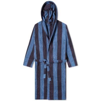 Tekla Fabrics Terry Stripe Bathrobe