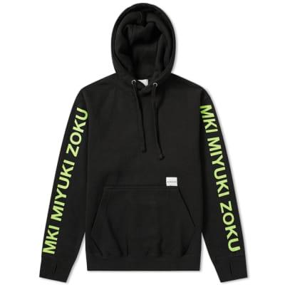 MKI Neon Logo Hoody