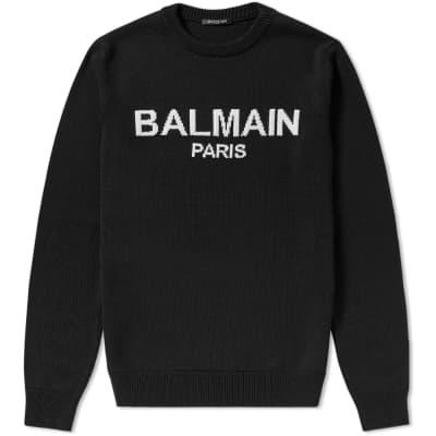 Balmain Paris Crew Knit