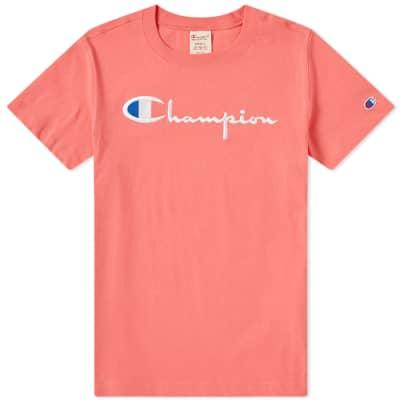 Champion Reverse Weave Women's Script Logo Tee