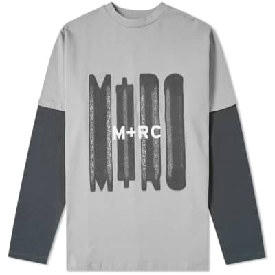 M+RC Noir Long Sleeve Double Layered Tee
