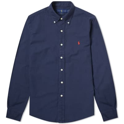 60d9ca59 Polo Ralph Lauren Slim Fit Garment Dyed Button Down Shirt