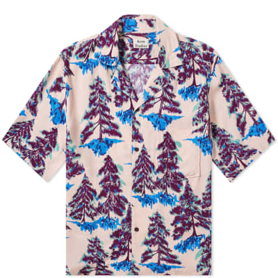 Acne Studios Simon Pine Vacation Shirt