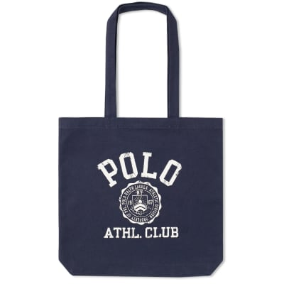 Polo Ralph Lauren Logo Canvas Tote Bag