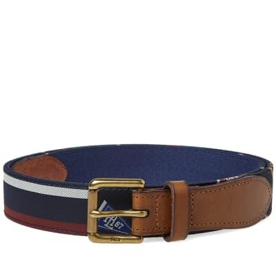 Polo Ralph Lauren Repp Tie Belt