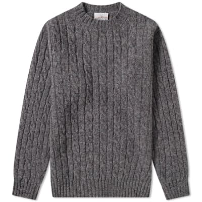 Jamieson's of Shetland Cable Crew Knit