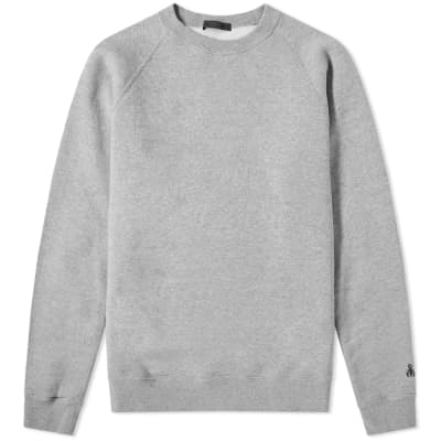 SOPHNET. Elbow Patch Crew Sweat