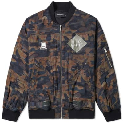 Undercover Bloody Geekers MA-1 Jacket