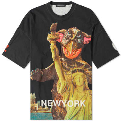 Undercover New York Monster Print Tee