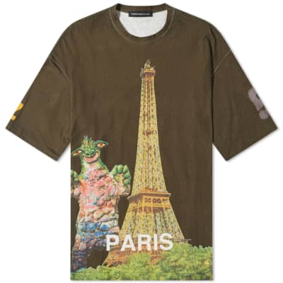 Undercover Paris Monster Print Tee