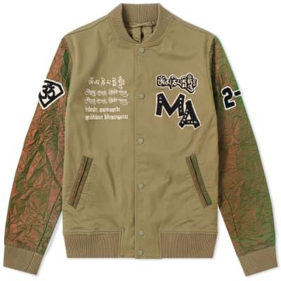 Maharishi Mani Stadium Varsity Jacket