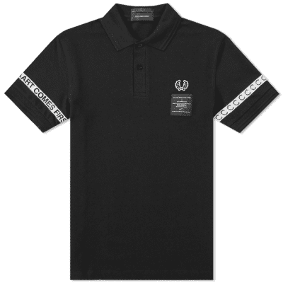 Fred Perry x Art Comes First Taped Pique Shirt