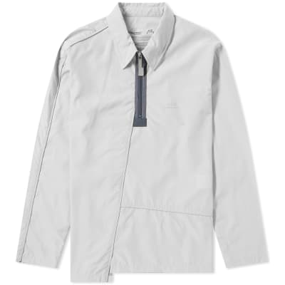 A-COLD-WALL* Quarter Zip Piping Overshirt