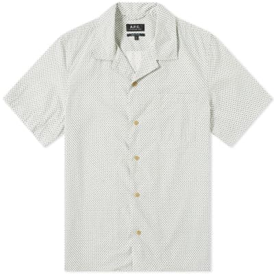 A.P.C. Dobby Print Vacation Shirt