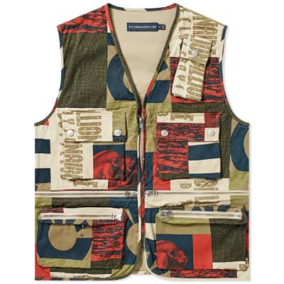 Billionaire Boys Club Fresh Water Print Vest