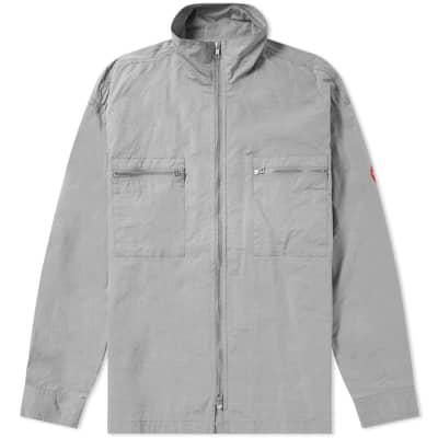 Cav Empt Nylon Zip Shirt Jacket