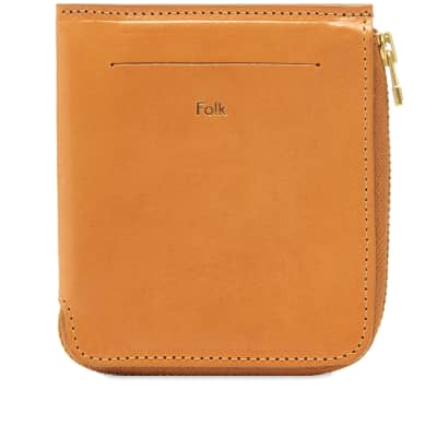 Folk Zip Wallet