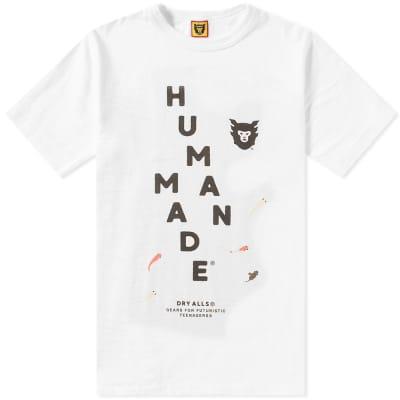 Human Made Diagonal Logo Tee