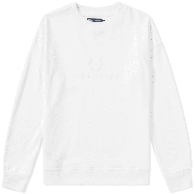 Fred Perry Women's Embroidered Crew Sweat