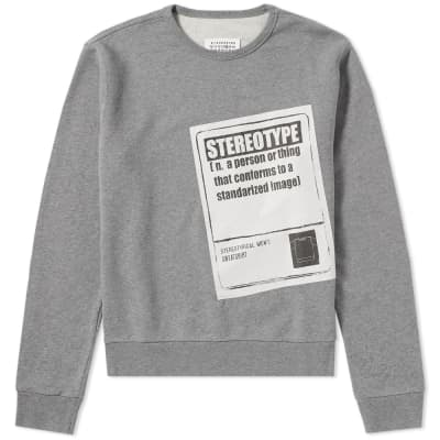 Maison Margiela 14 Stereotype Crew Sweat