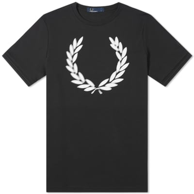Fred Perry Authentic Blurred Wreath Tee