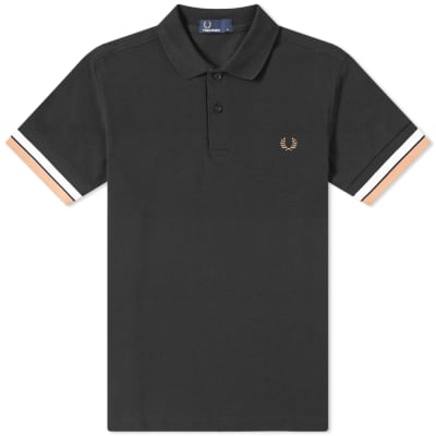 Fred Perry Authentic Bold Cuff Polo