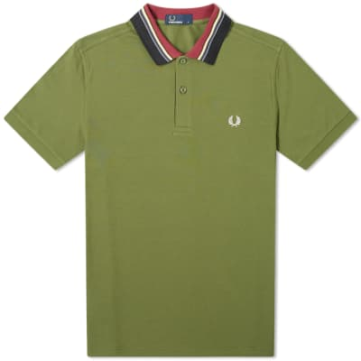 Fred Perry Authentic Stripe Collar Polo