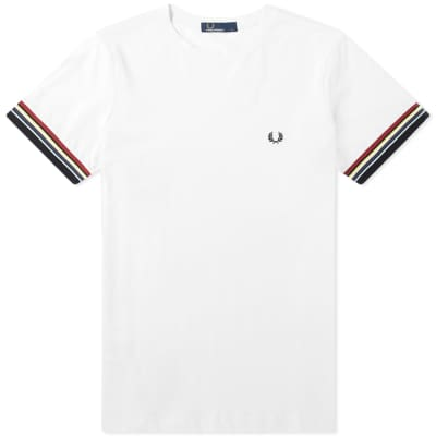 Fred Perry Authentic Striped Cuff Tee