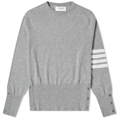 Thom Browne Classic Cashmere Crew Knit